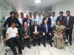 Members of Andhra Pradesh Chamber of Commerce and Industry